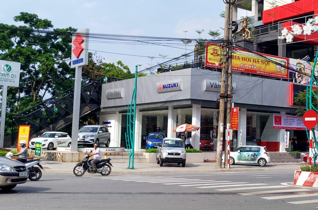 Suzuki Vân Đạo Thái Nguyên - Cầu Gia Bảy
